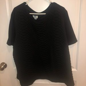 Old navy quilted black shirt XXL